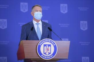 "Iohannis: ""La noi campania de vaccinare a fost un succes. Noi practic am oprit pandemia"""