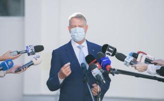 """Iohannis: """"Romania se confrunta cu un val epidemiologic virulent caruia trebuie sa-i reziste"""" VIDEO"""