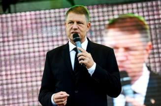 Iohannis - multumiri pentru Guvernul SUA si inca o tinta: Parlament mai mic