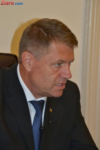 Iohannis: Am fost convins din capul locului ca voi castiga alegerile prezidentiale