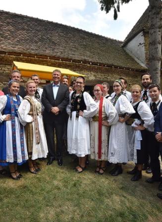 Iohannis: Comunitatea saseasca va serba impreuna cu romanii Centenarul Romaniei
