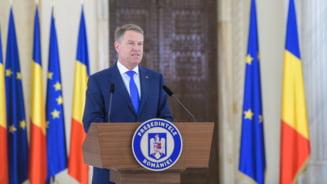 Iohannis: Dragi romani, sunteti fantastici. Dupa acest rezultat Guvernul PSD-ALDE trebuie sa plece