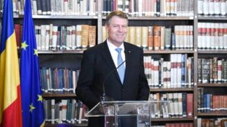Iohannis: Exista politicieni romani cu opinii diferite privind viitorul UE, dar Romania sigur e de parere cu mine