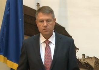 Iohannis: Formatiunea lui Tariceanu, creata si hranita de PSD