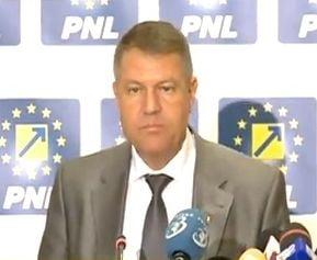 Iohannis: Noi, PNL, dorim sa preluam puterea
