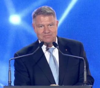 Iohannis: PSD a schimbat de multe ori fetele, dar niciodata naravul