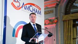 Iohannis: Predictibilitatea economica nu este un slogan, am atras atentia guvernelor din ultimul an