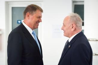Iohannis: Romania este marea sansa a Moldovei, Timofti este un castig pentru UE