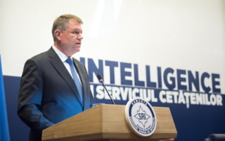 Iohannis: SRI si-a facut datoria pe deplin, Romania e o tara sigura, scutita de terorism (Video)