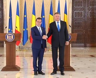 Iohannis: Si data viitoare tot pe Ludovic Orban il voi propune premier