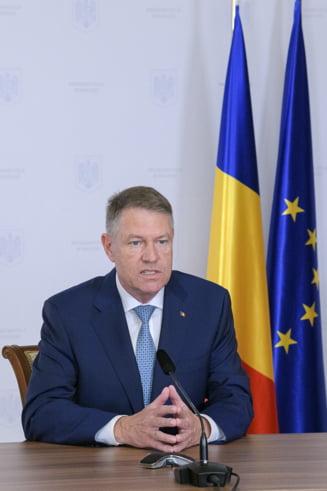 Iohannis: Suntem primul stat care a primit acceptul CE de a demara achizitii pentru constituirea rezervei de echipamente medicale