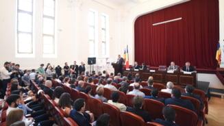 Iohannis: Verdictele de plagiat, doar varful aisbergului