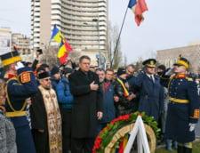 Iohannis, baie de multime la comemorarea Revolutiei: Cinste lui, cinste presedintelui!