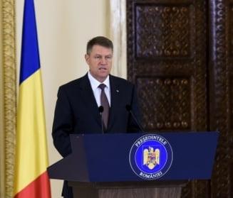 """Iohannis, bilant de 100 de zile: Despre """"postacul"""" Basescu, raspunderea lui Ponta si """"pendulul ANAF"""""""
