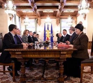 Iohannis, consultari cu partidele: De la codul electoral pana la desfiintarea CNA