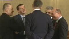 Iohannis, consultari fara PSD si ALDE: PNL si USR nu-l vor pe Dragnea premier, Basescu se autopropune