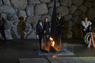 Iohannis, despre Holocaust: Nu sunt multe state care au reusit ce am reusit noi. Ce promite ca va face in Romania (Galerie foto)