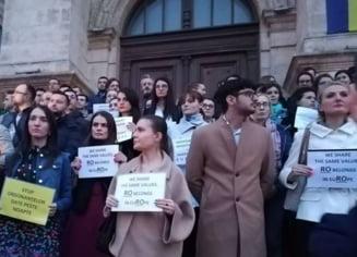 Iohannis, despre protestele magistratilor: Bine au facut ca au iesit; e un atac nemaivazut asupra sistemului de justitie