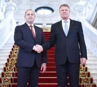 Iohannis, dupa intalnirea cu presedintele Bulgariei: NATO e o alianta defensiva. Nu ne pregatim sa actionam impotriva Rusiei