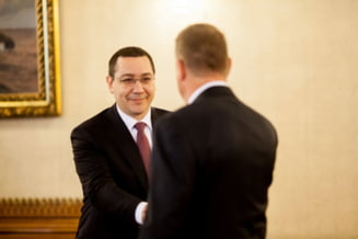 Iohannis, fata in fata cu Ponta: Viata politica e un pic mai agitata