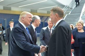 Iohannis, in SUA: Sunt fericit sa impartasesc povestea noastra de succes cu Trump. Romania e cea mai pro-americana din UE