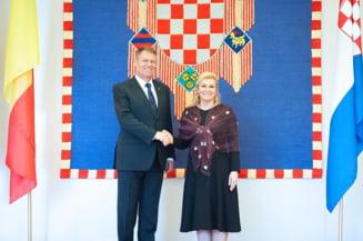 Iohannis, in presa din Croatia: Lupta impotriva coruptiei e o poveste fara sfarsit (Video)