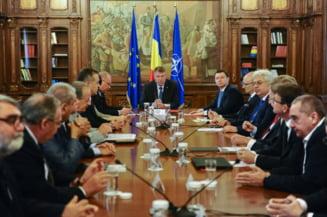 Iohannis, intalnire cu oamenii de afaceri: Care sunt prioritatile