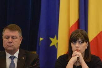 Iohannis, intrebat de ce a demis-o pe Kovesi prin purtatorul de cuvant: Am procedat rezonabil