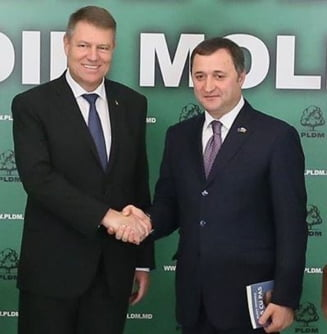 Iohannis, la Chisinau: Romania va proteja teritoriul si interesele economice ale R.Moldova (Video)