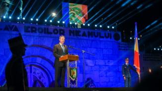 Iohannis, la Marasesti: Pacea poate fi mentinuta doar prin integrarea europeana