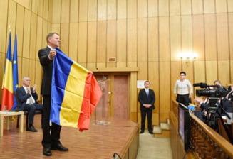 Iohannis, la Miercurea Ciuc: Steagul Bucovinei e folosit pentru promovare turistica, steagul secuiesc a venit mereu cu revendicari politice