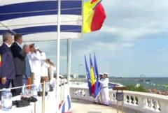 Iohannis, la Ziua Marinei: Un stat nu poate fi puternic daca nu se poate apara