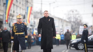 Iohannis, la bilantul Ministerului Apararii: Ma incearca o emotie speciala