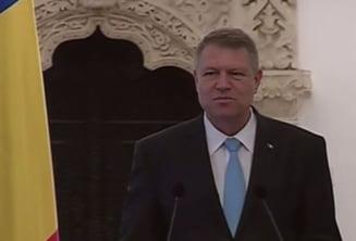 Iohannis, la depunerea juramantului Guvernului Ciolos: Avem cea mai grava forma de criza
