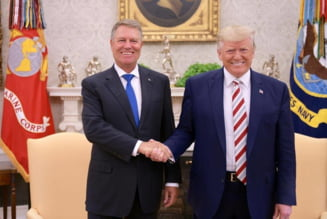Iohannis, la o intalnire restransa cu Trump. Vine presedintele american in vizita la Bucuresti?