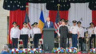 """Iohannis, la receptia de la Ambasada SUA cu ocazia Zilei Independentei: """"Romania - un promotor al unei relatii transatlantice solide"""" VIDEO"""