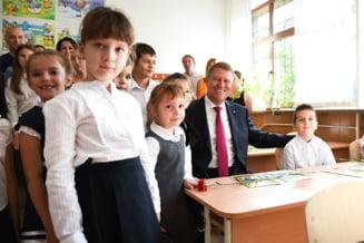 Iohannis, lectie de istorie in fata clasei despre proiectele de tara: Daca nu ridica nimeni mana, o sa raspund singur