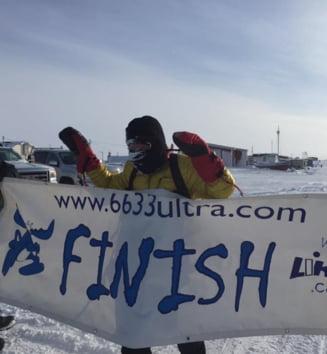 Iohannis, mesaj pentru romanul care a castigat cel mai greu ultramaraton din lume