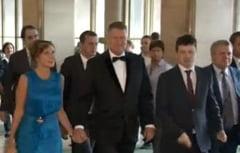 Iohannis, prima aparitie publica din iulie: Unde a mers cu sotia sa