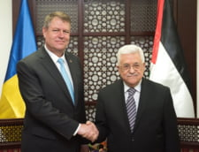Iohannis, promisiuni in Palestina. Abbas: Situatia e insuportabila. Mainile noastre sunt intinse
