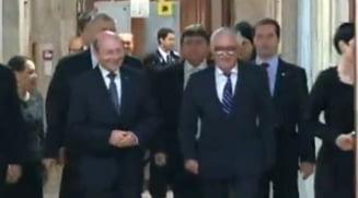 Iohannis, validat oficial la CCR. Basescu: Ma bucur ca a sosit si ziua asta