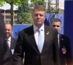 Iohannis a ajuns la Summitul NATO: Ce pozitie are fata de Rusia