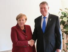 Iohannis a avut intalniri la nivel inalt inaintea Consiliului European: Ce i-a spus Merkel