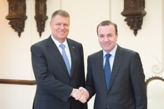 Iohannis a cerut ajutorul sefului grupului PPE, pentru aderarea Romaniei la Schengen
