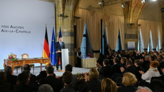 Iohannis a fost prezent la un moment istoric: Spiritul de la Aachen ne va insoti pe drumul catre Sibiu (Foto&Video)