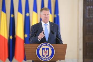 Iohannis a iesit la declaratii, a criticat PSD, dar nu a spus nimic despre interimarii lui Dancila