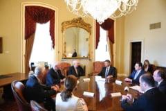 Iohannis a incercat sa-i convinga pe americani sa includa Romania in Visa Waiver