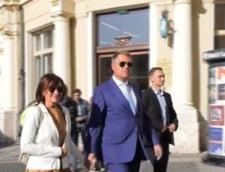 Iohannis a mers la biserica in a doua zi de referendum. Niciun cuvant despre vot