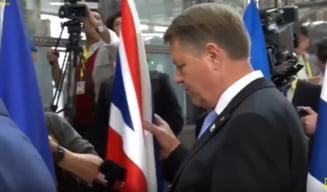 Iohannis a oferit faza zilei la negocierile pe Brexit si si-a pus britanicii in cap (Video)