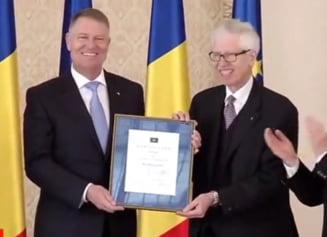 Iohannis a primit prestigiosul premiu Coudenhove-Kalergi. Donald Tusk: Iohannis are acelasi efect ca muzica ce imblanzeste bestia! (Video)